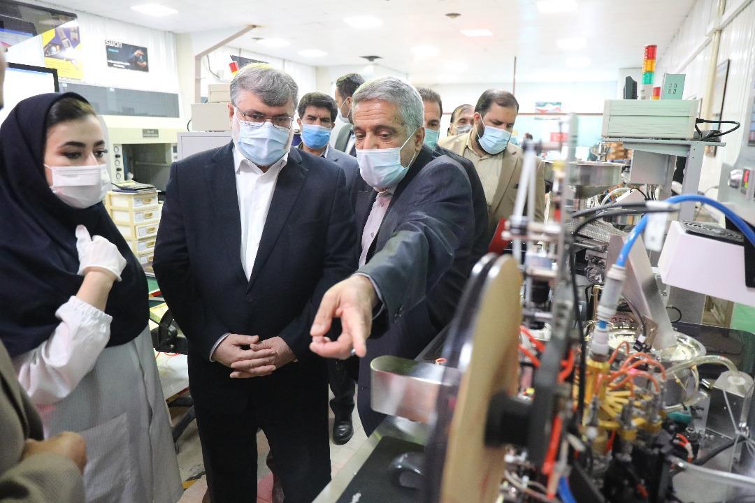 بازدید استاندار و رئیس سازمان صنعت، معدن و تجارت خراسان رضوی از 3 شرکت دانش بنیان