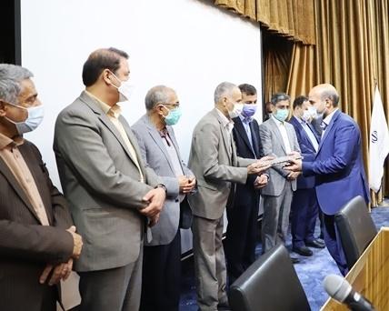برگزاری مراسم تودیع و معارفه رئیس سازمان صنعت، معدن و تجارت خراسان رضوی